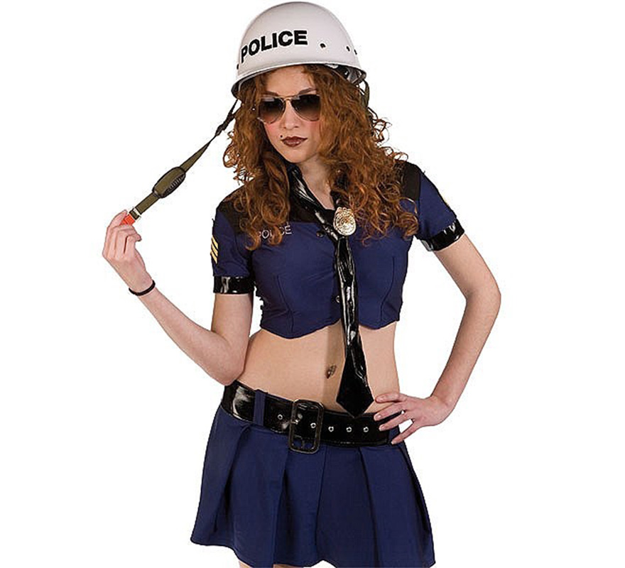 Casco de Policía.