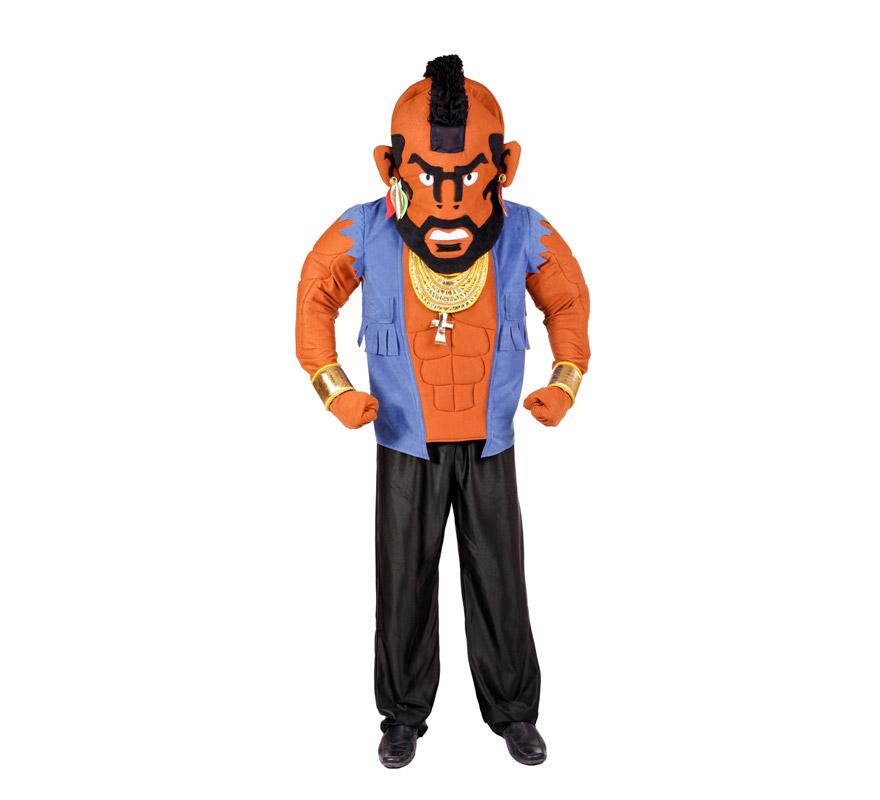 Disfraz barato de Mr. T para hombre
