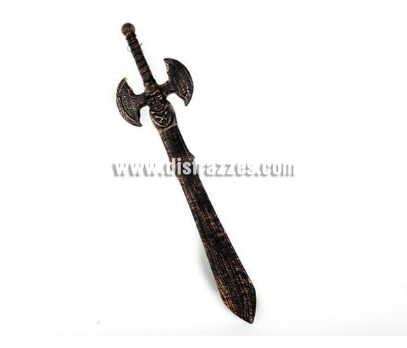 Espada con empuñadura Axial de 99 cm. para Halloween o Carnaval, también para los disfraces de Vikingos y Bárbaros.