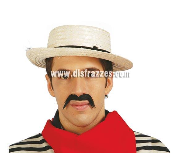 Sombrero Canoutier para Carnaval barato. Sombrero de Gondolero Veneciano para hombre. Ideal como complemento de tu disfraz para Carnaval para ir de Fiesta a Pubs, Discotecas, Casas particulares, Restaurantes o Colegios y ayudar a crear un ambiente Carnavalesco y Festivo propio de la Fiesta de Carnavales. ¡¡Compra el complemento para tu disfraz de Carnaval en nuestra tienda de disfraces, será divertido!!