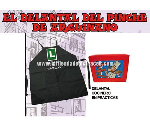El delantal del pinche de Argiñano. Texto: COCINERO EN PRÁCTICAS.