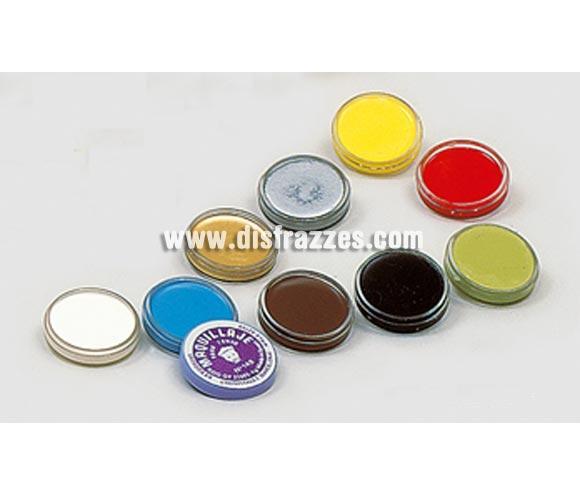 Maquillaje en crema para fondo en color plata de 4 gr.