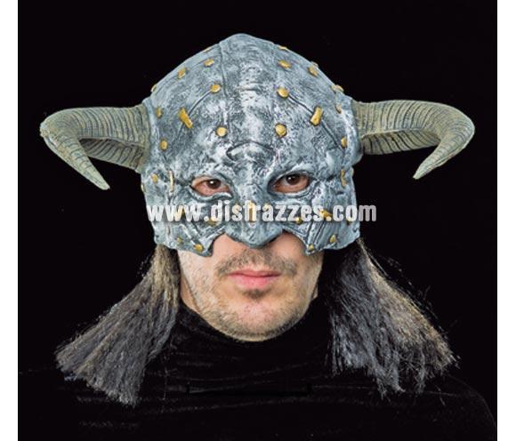 Casco Mascarilla de monstruo Vikingo para Halloween.