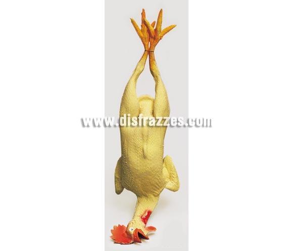 Pollo muerto, 58 cm. Ideal como complemento de los disfraces  de Cocinero o Cocinera.