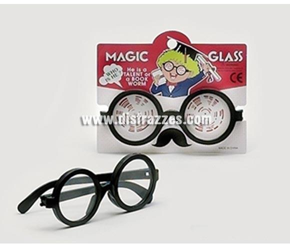 Gafas Harry con cristales. Gafas que sirven para el disfraz de Wally, de Viejo o Abelo, de Vieja y Abuela, de Harry Potter o para el que tu imaginación invente.