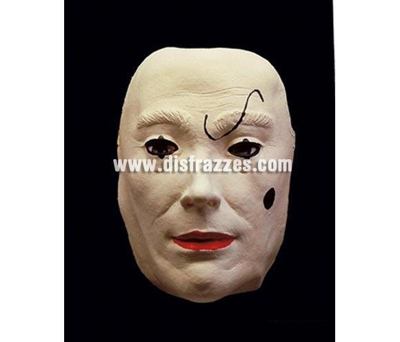 Careta o Máscara de Arlequín triste para Halloween o par  cualquier fecha del año.