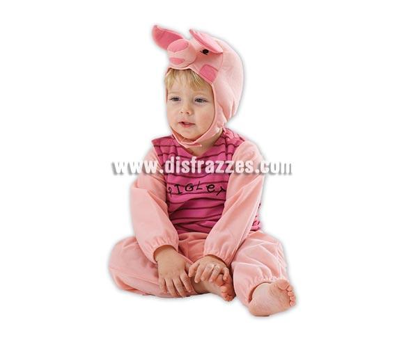 Disfraz de Piglet para niños. Talla de 3 a 4 años. Incluye capucha y mono. El amigo de Winnie the Pooh. Disfraz con licencia Disney ideal para regalar. Éste disfraz es ideal para Carnaval y para regalar en Navidad, en Reyes Magos, para un Cumpleaños o en cualquier ocasión del año. Con éste disfraz harás un regalo diferente y que seguro que a los peques les encantará y hará que desarrollen su imaginación y que jueguen haciendo valer su fantasía.  ¡¡Compra tu disfraz para Carnaval o para regalar en Navidad o en Reyes Magos en nuestra tienda de disfraces, será divertido!!