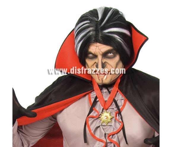 Collar de Drácula con cinta roja para Halloween.