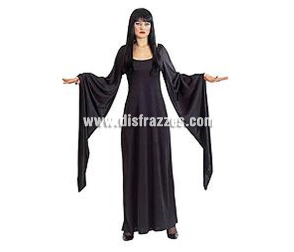 Disfraz de Evilynn adulta para Halloween. Protagonista de la película LA PRINCESA DEL TERROR. Talla única standar de mujer. Incluye vestido de terciopelo con mangas largas.