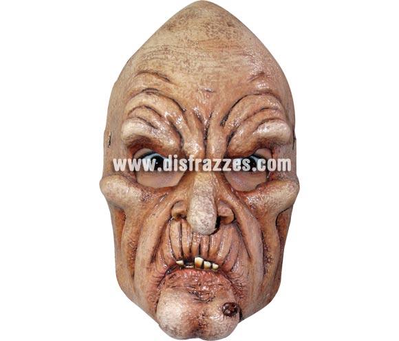 Máscara de Bruja Vieja de media cabeza para Halloween. Máscara de Old Wizard fabricada en látex artesanalmente por una empresa que realiza efectos especiales para Hollywood. Máscara o Careta de Halloween.
