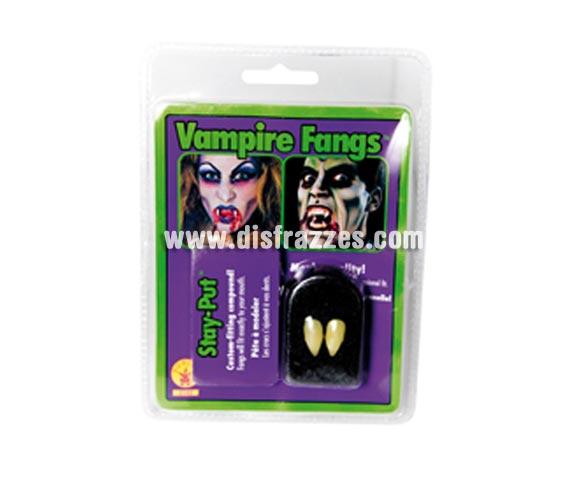 Colmillos de Vampiro Profesional para Halloween.