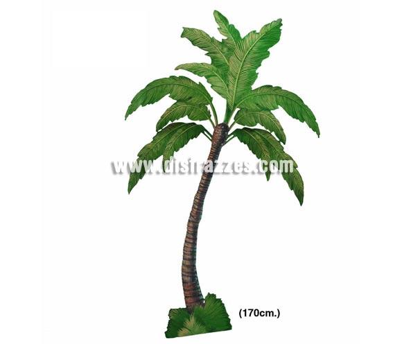 Palmera de cartoncillo. Ideal para decorar tus Fiestas Hawaianas. ¡¡Compra la decoración para tus Fiestas en nuestra tienda de disfraces, será divertido!!