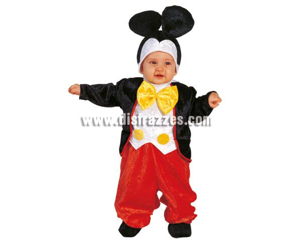 Disfraz de Ratón Baby para Carnaval. Disponible en 2 tallas. Incluye disfraz.