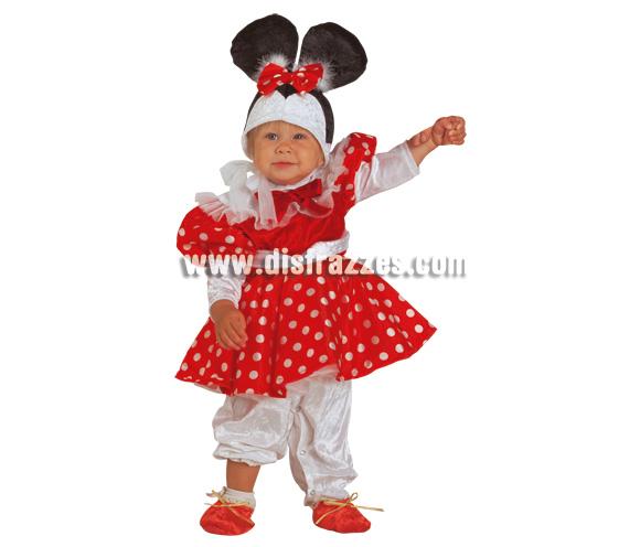 Disfraz de Ratita Baby para Carnaval. Disponible en 2 tallas. Incluye disfraz.