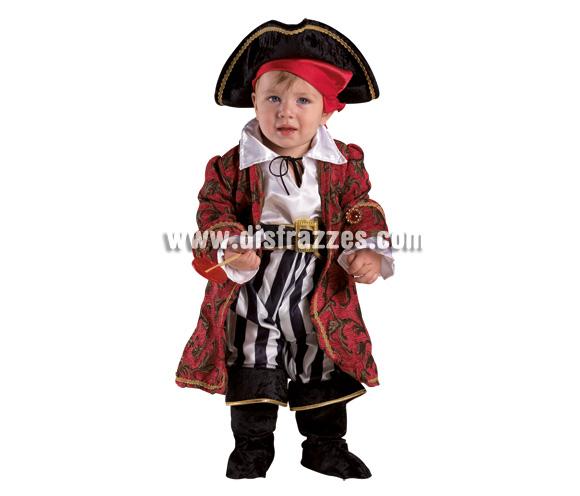 Disfraz de Pirata Baby para Carnaval. Disponible en 2 tallas. Incluye disfraz.