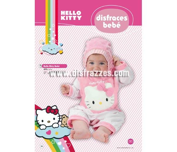 Disfraz de Hello Kitty bebé para Carnaval o para regalar. Talla de 0 a 6 meses. Incluye disfraz. Presentación en percha y bolsa. Disfraz con licencia perfecto para regalar. Éste traje es perfecto para Carnaval y como regalo en Navidad, en Reyes Magos, para un Cumpleaños o en cualquier ocasión del año. Con éste disfraz harás un regalo diferente y que seguro que a los peques les encantará y hará que desarrollen su imaginación y que jueguen haciendo valer su fantasía.  ¡¡Compra tu disfraz para Carnaval o para regalar en Navidad o en Reyes Magos en nuestra tienda de disfraces, será divertido y quedarás muy bien!!
