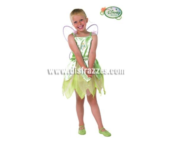 Disfraz de Campanilla CLASSIC infantil para Carnaval y para regalo. Talla de 7 a 8 años. Incluye disfraz y alas. Presentación en percha y bolsa. Disfraz con licencia perfecto para regalar. Éste traje es perfecto para Carnaval y como regalo en Navidad, en Reyes Magos, para un Cumpleaños o en cualquier ocasión del año. Con éste disfraz harás un regalo diferente y que seguro que a los peques les encantará y hará que desarrollen su imaginación y que jueguen haciendo valer su fantasía.  ¡¡Compra tu disfraz para Carnaval o para regalar en Navidad o en Reyes Magos en nuestra tienda de disfraces, será divertido y quedarás muy bien!!