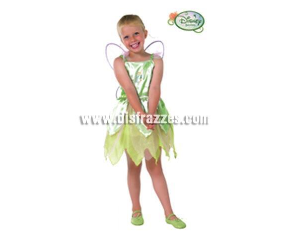 Disfraz de Campanilla CLASSIC infantil para Carnaval y para regalo. Talla de 3 a 4 años. Incluye disfraz y alas. Presentación en percha y bolsa. Disfraz con licencia perfecto para regalar. Éste traje es perfecto para Carnaval y como regalo en Navidad, en Reyes Magos, para un Cumpleaños o en cualquier ocasión del año. Con éste disfraz harás un regalo diferente y que seguro que a los peques les encantará y hará que desarrollen su imaginación y que jueguen haciendo valer su fantasía.  ¡¡Compra tu disfraz para Carnaval o para regalar en Navidad o en Reyes Magos en nuestra tienda de disfraces, será divertido y quedarás muy bien!!