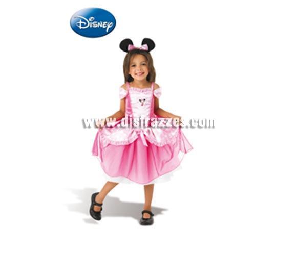 Disfraz de Minnie Mouse CLASSIC Ballerina Rosa infantil para carnaval y para regalo. Talla de 7 a 8 años. Incluye vestido rosa y diadema con orejas. Disfraz con licencia perfecto para regalar. Éste traje es perfecto para Carnaval y como regalo en Navidad, en Reyes Magos, para un Cumpleaños o en cualquier ocasión del año. Con éste disfraz harás un regalo diferente y que seguro que a los peques les encantará y hará que desarrollen su imaginación y que jueguen haciendo valer su fantasía.  ¡¡Compra tu disfraz para Carnaval o para regalar en Navidad o en Reyes Magos en nuestra tienda de disfraces, será divertido y quedarás muy bien!!