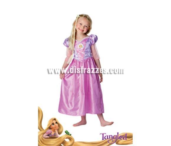 Disfraz de Rapunzel CLASSIC en caja con accesorios para Carnaval y para regalo de Reyes. Talla de 3 a 4 años. Incluye vestido, tiara, joyas y zapatos. Presentación en caja regalo. Disfraz con licencia perfecto para regalar. Éste traje es perfecto para Carnaval y como regalo en Navidad, en Reyes Magos, para un Cumpleaños o en cualquier ocasión del año. Con éste disfraz harás un regalo diferente y que seguro que a los peques les encantará y hará que desarrollen su imaginación y que jueguen haciendo valer su fantasía.  ¡¡Compra tu disfraz para Carnaval o para regalar en Navidad o en Reyes Magos en nuestra tienda de disfraces, será divertido y quedarás muy bien!!