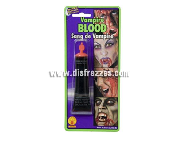 Sangre de Drácula en tubo de 29 ml. para Halloween.