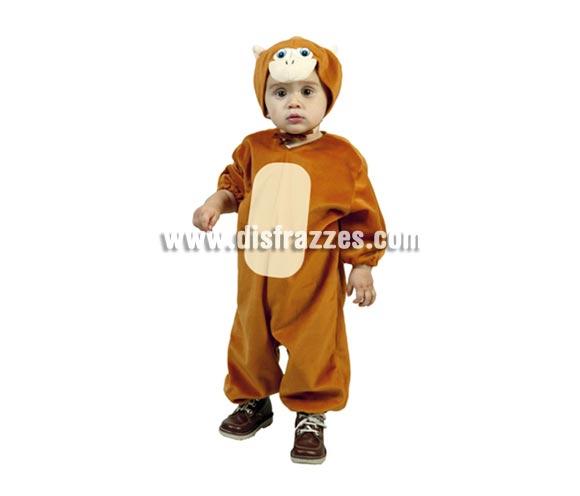 Disfraz barato de Mono infantil para Carnaval. Talla de 3 a 4 años. Incluye  mono y gorro.