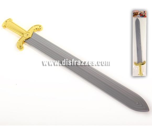 Espada de Romano para Carnaval. El embalaje mide 69x15 cm. Ideal como complemento de tu disfraz de Romano en Carnaval y en Navidad para Cabalgatas de Reyes.