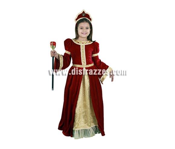 Disfraz Dama del Renacimiento 5-6 años de niña