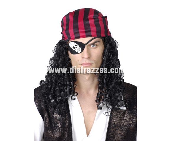 Peluca de Pirata con accesorios para Carnaval