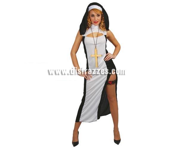 Disfraz Barato De Monja Sexy De Mujer Para Carnaval Por Sólo 9 75 Disfraces Baratos Religiosos Monjas Y Curas Tienda Online De Disfraces Baratos