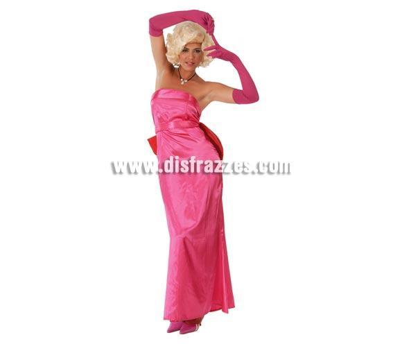 Disfraz de Marilyn Elegance adulta para Carnavales. Talla única hasta la 42/44. Incluye vestido, guantes y cinturón con lazo. Peluca NO incluida, podrás verla en la sección de Complementos. ¡¡Compra tu disfraz para Carnaval en nuestra tienda de disfraces, será divertido!!