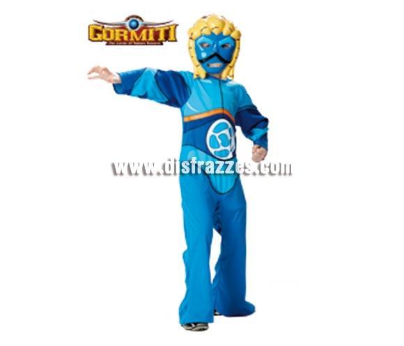 Disfraz barato de GORMITI Agua Classic niños de 7-8 años