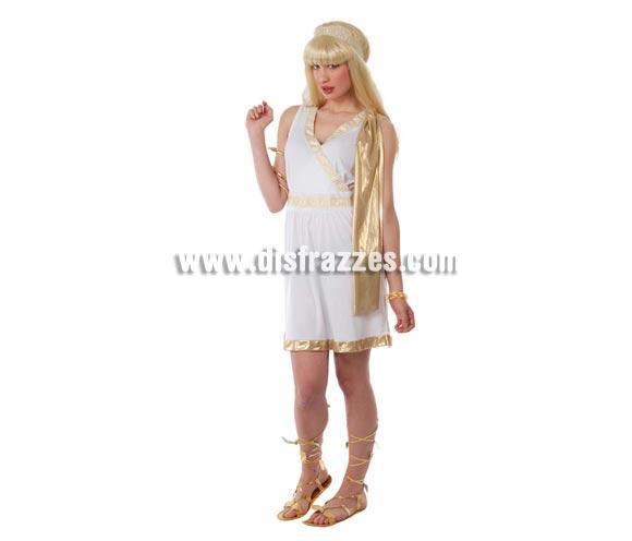 Disfraz Super barato de Griega Sexy adulta para Carnavales. Talla única hasta la 42/44. Incluye cinta de la cabeza y vestido. ¡¡Compra tu disfraz para Carnaval en nuestra tienda de disfraces, será divertido!!