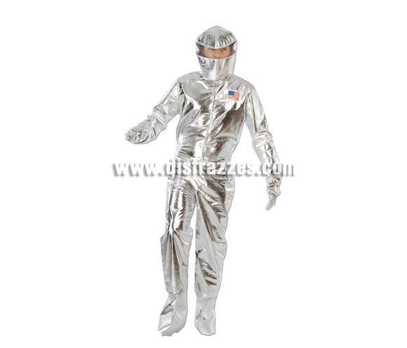 Disfraz de Astronauta adulto para Carnavales. Talla única 52/54. Incluye mono, cubrebotas, guantes y casco. ¡¡Compra tu disfraz para Carnaval en nuestra tienda de disfraces, será divertido!!