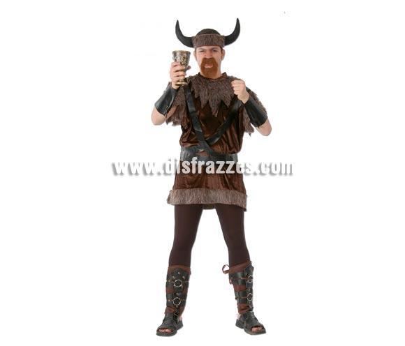 Disfraz barato de Vikingo hombre para Carnaval
