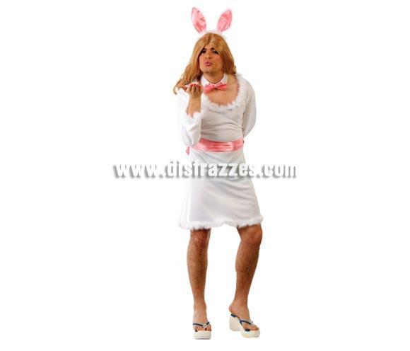 Disfraz barato de Conejita Sexy hombre para Carnaval
