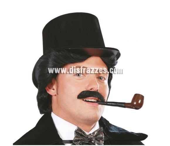 Pipa de fumar para Carnavales. NO apta para fumar, sólo aparenta una pipa real. Ideal como complemento de tu disfraz de Señor y sobre todo de Popeye el Marino. También para el disfraz de Capitán Haddock, el amigo de Tin tin o incluso el de Sherlock Holmes.