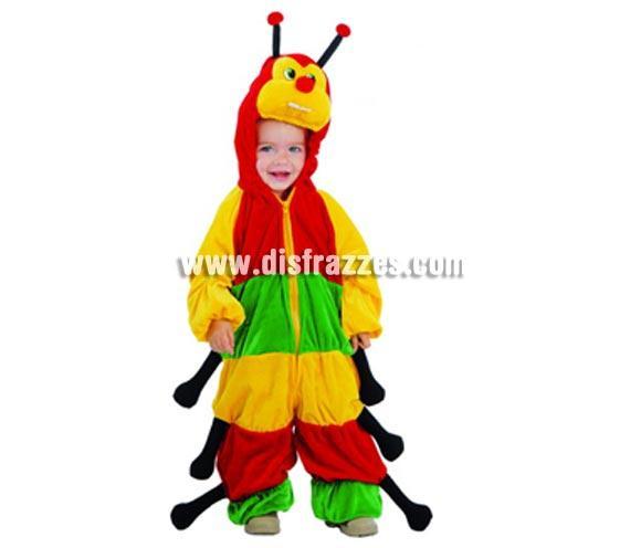 Disfraz de Cienpies Baby para Carnavales. Talla de 12 a 24  meses. Incluye disfraz completo. ¡¡Compra tu disfraz para Carnaval en nuestra tienda de disfraces, será divertido!!