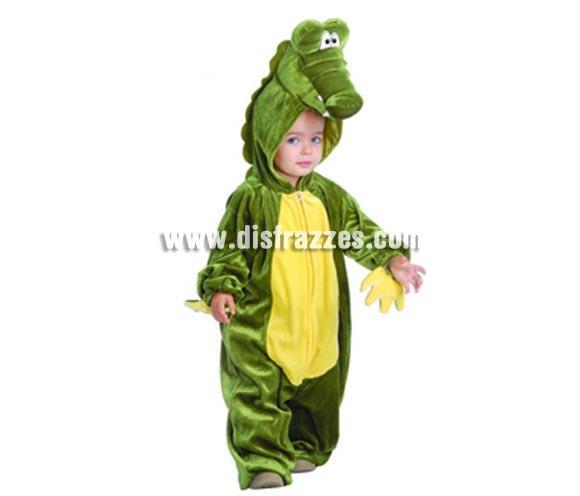 Disfraz de Cocodrilo Baby para Carnavales. Talla de 12 a 24 meses. Incluye disfraz completo. ¡¡Compra tu disfraz para Carnaval en nuestra tienda de disfraces, será divertido!!