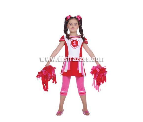 Disfraz barato de Animadora para niñas de 10 a 12 años