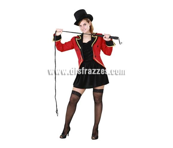 Disfraz de Domadora de Circo para mujer. Talla Standar M-L 38/42. Incluye vestido y chaqueta. Accesorios NO incluidos, podrás verlos en la sección Complementos.