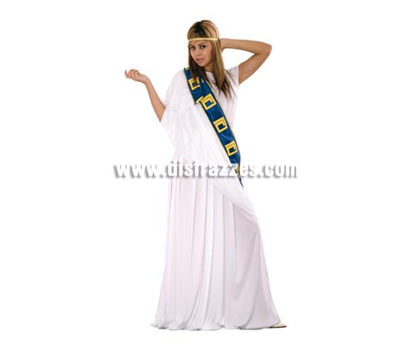 Disfraz de Romana para mujer. Talla standar M-L 38/42. Incluye cinta de la cabeza, túnica y manto.