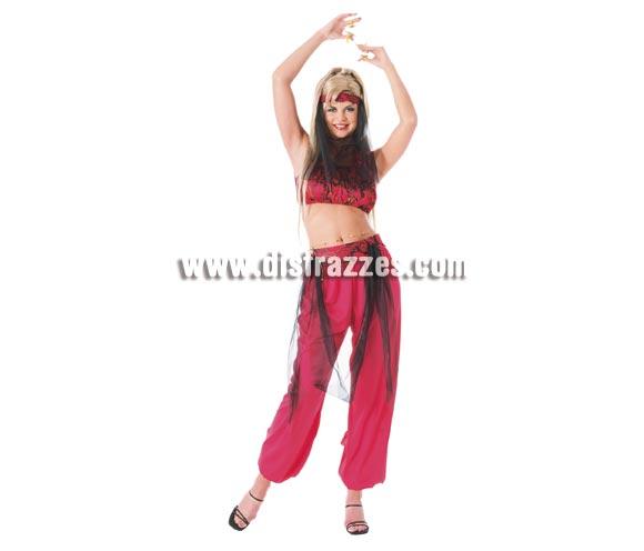 Disfraz de Bailarina del Haren para mujer. Talla standar. Incluye pantalones, top, cinturón con felcos y banda para la cabeza con velo.