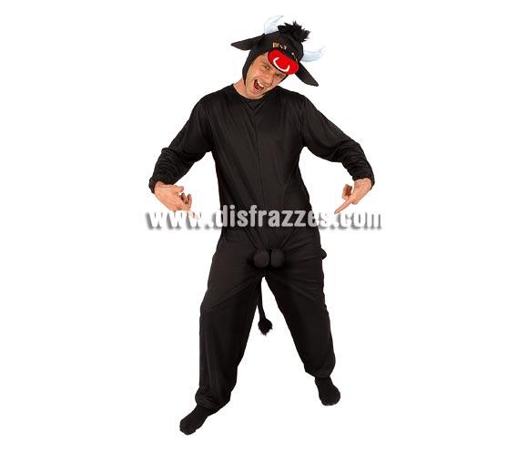 Disfraz de Toro loco para hombre. Talla standar. Incluye traje completo y capucha.