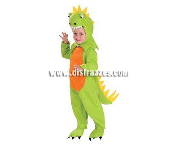 Disfraz de Dinosaurio para niños de 3 a 4 años. Incluye traje completo con gorro y sonido. Éste disfraz además de muy bonito es calentito, que es muy importante para las zonas donde hace frío.
