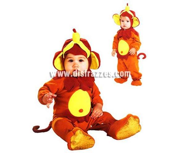 Disfraz de Mono o Monito para bebés de 6 a 12 meses. Incluye traje completo con gorro. Qué disfraz más Monooo!!