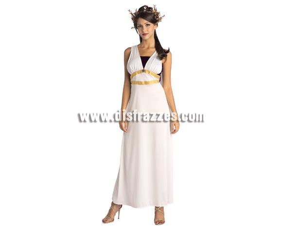 Disfraz de Romana para mujer. Talla standar. Incluye vestido con capa y tocado.