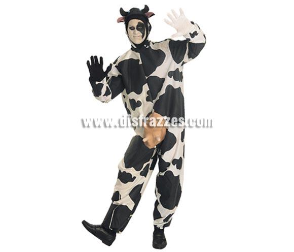 Disfraz de Vaca para hombre. Talla standar. Incluye traje completo con ubre y capucha.