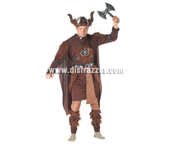 Disfraz de Vikingo para hombre. Talla 54. Incluye disfraz. Arma NO incluida.