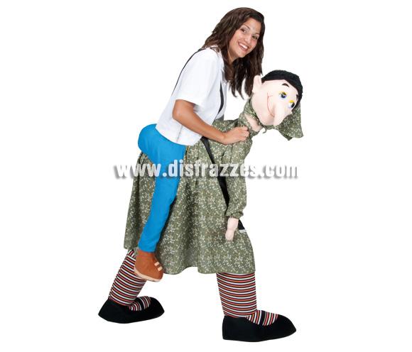 Disfraz de Bruja para adultos. Talla única. Incluye disfraz.